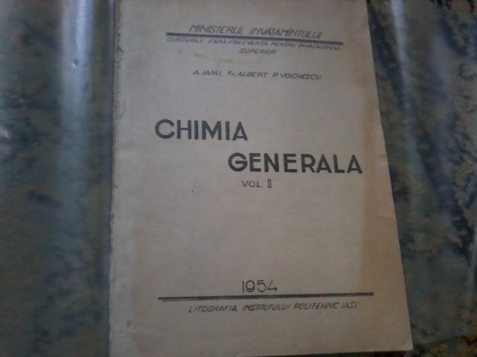 Chimie generala Vol 2 A ianu F Albert P Voichescu