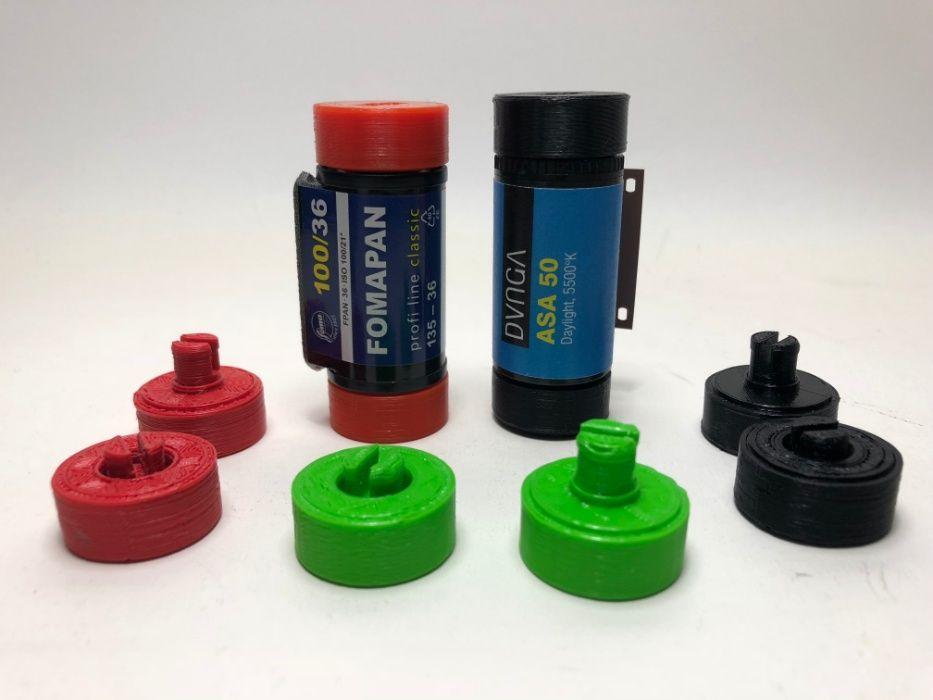 Adaptor film 35mm la aparat de fotografiat format mediu 120 (set)