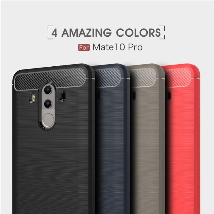 RUGGED ARMOR силиконов калъф кейс мат за Huawei Mate 10 Pro, 10 Lite