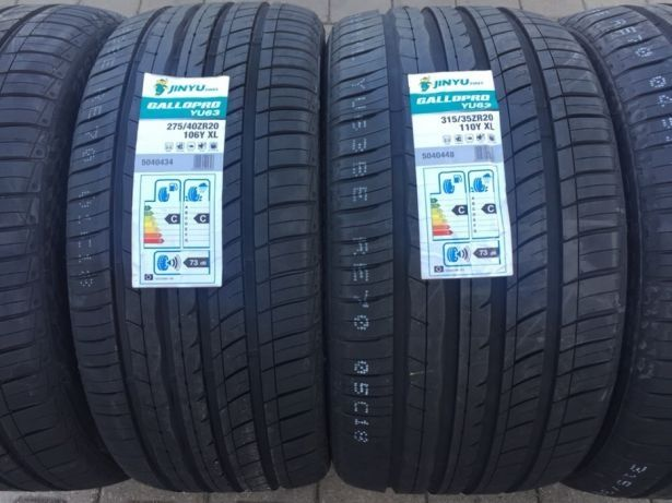 Set anvelope noi vara BMW Seria 7 275/40/19 cu 245/45/19 JINYU