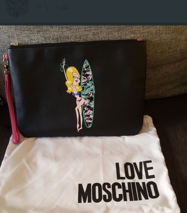 Moschino дамски чанти 3 бр.