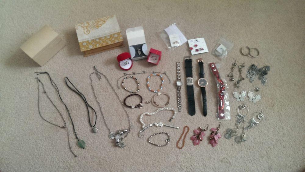 Set bijuterii + cutii cadou