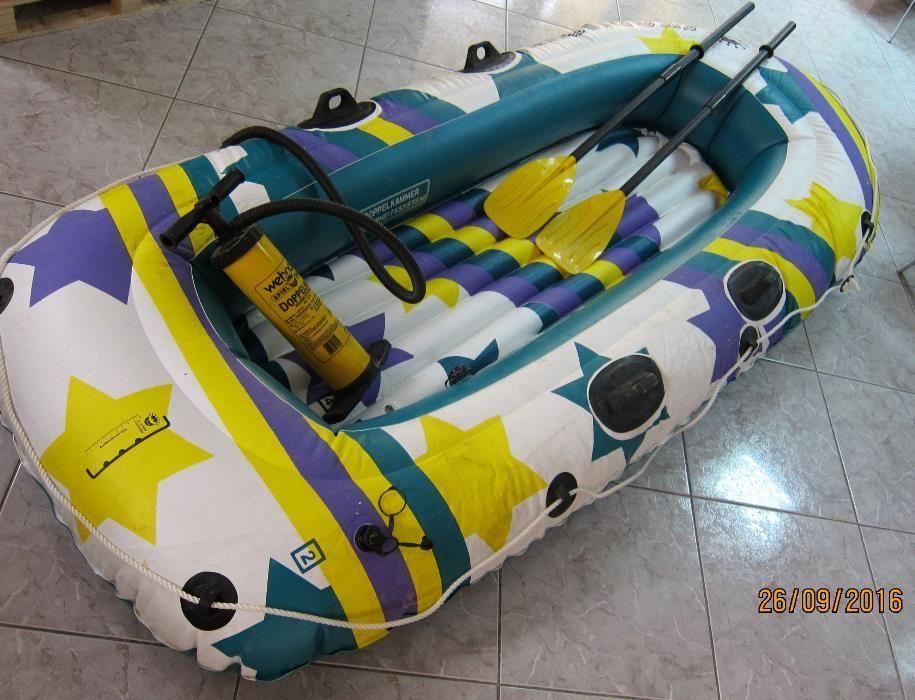 Barca pneumatica pentru pescuit/agrement
