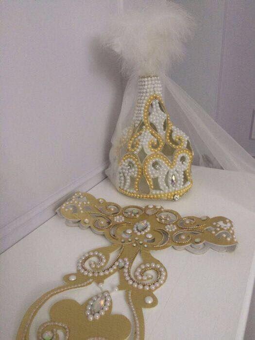 Свадебное платье на Кыз Узату