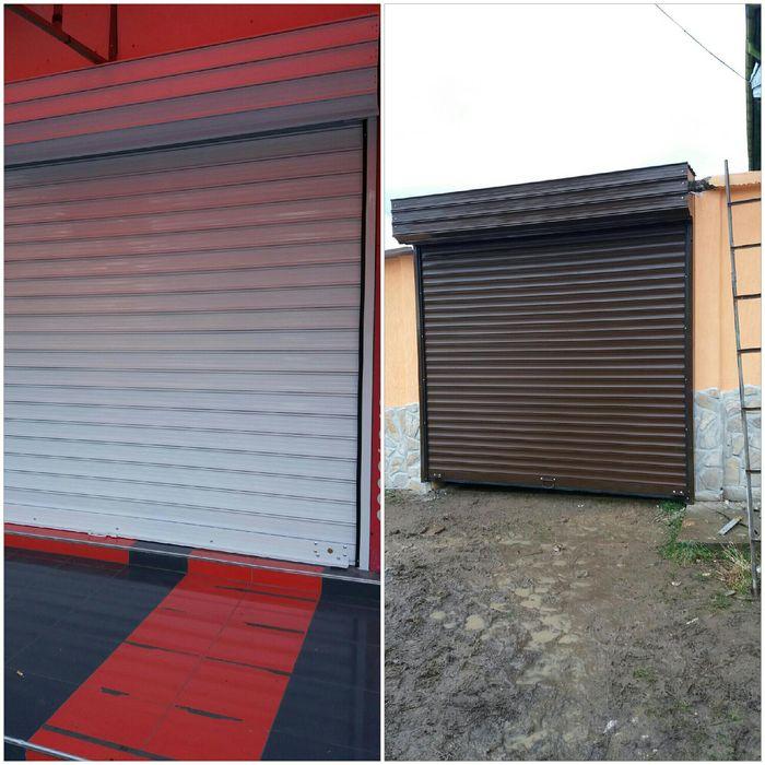 Части и ремонти на ролетни врати и охранителни ролетки