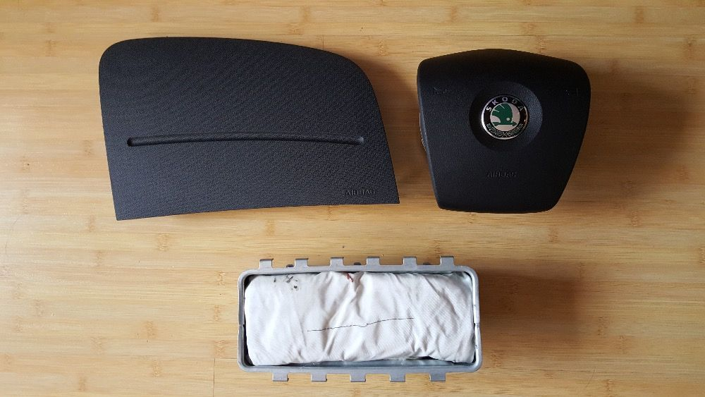 KIT Airbag SKODA FABIA II / ROOMSTER si Facelift II ca noi