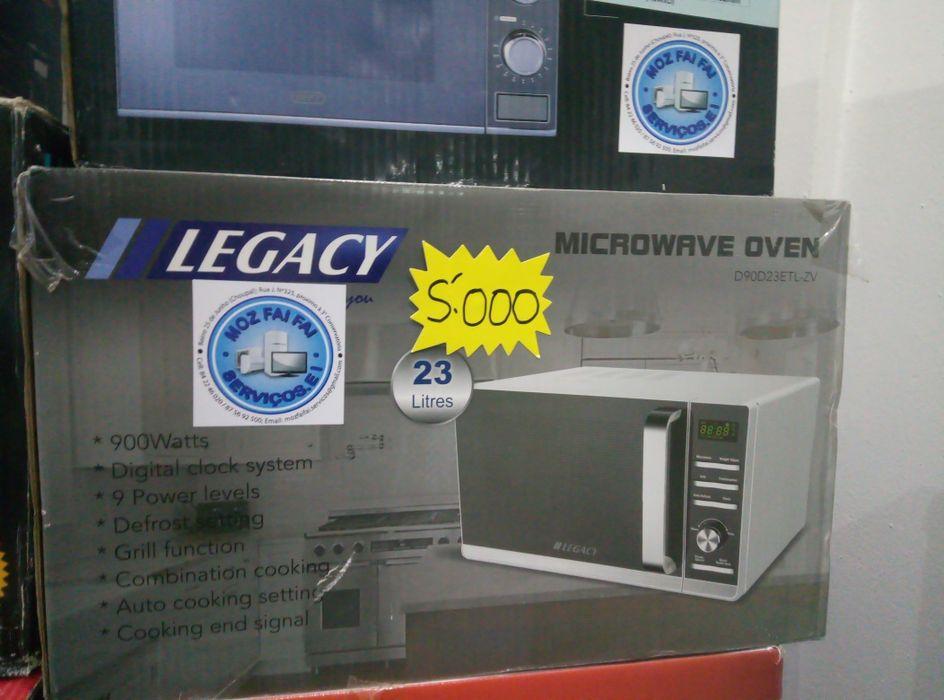 Microondas legacy 23 litros com garantia