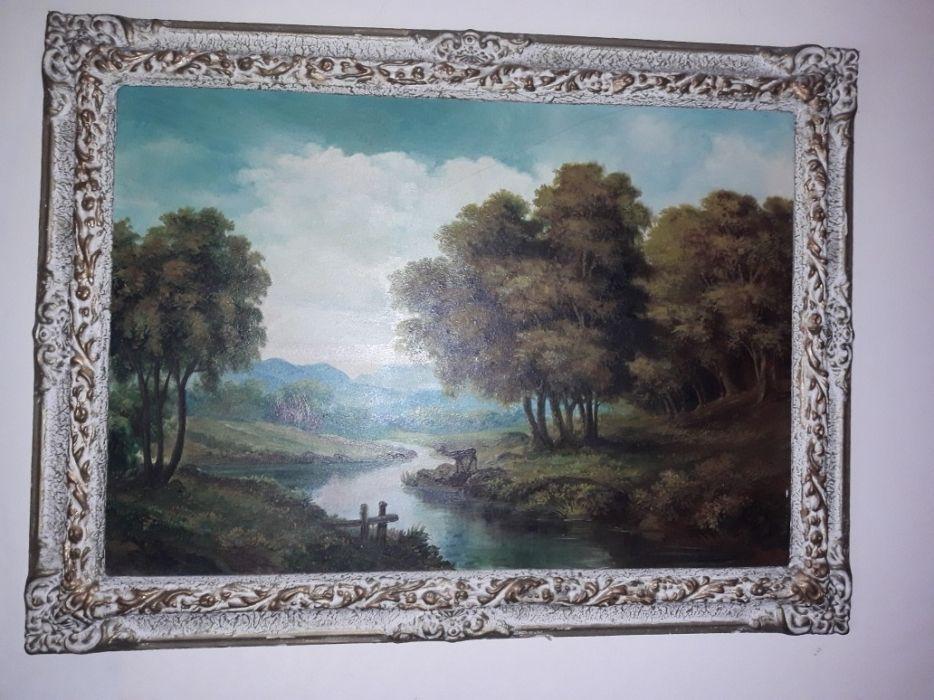 Pictura tablou in ulei pe panza