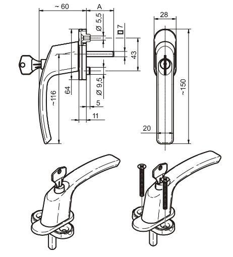дръжки за PVC прозорци гр. Шумен - image 5