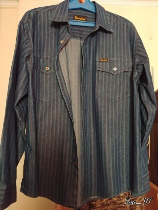 Продам новую, фирменную, Немецкую рубашку [Wrangler].