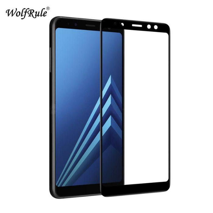 Samsung A6 A6+ A7 A8 A9 2018 Folie Sticla Securizata Full Size Neagra