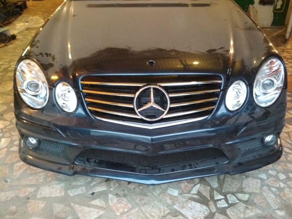 Mercedes W211 AMG бампер
