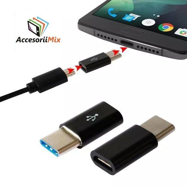 Adaptor Usb 3.1 Type-c / Micro USB , USB-C la Micro USB