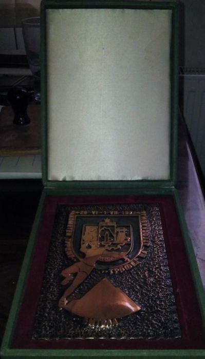 Medalie bronz si trofeu 1973 Bucuresti - imagine 3