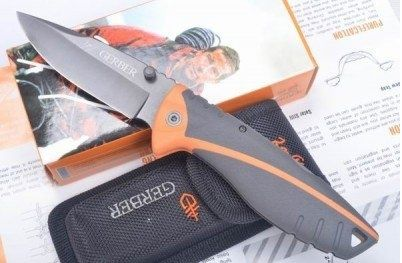 CUTIT BRICEAG 21.5cm GERBER Bear Grylls Stainless Steel Drop Point