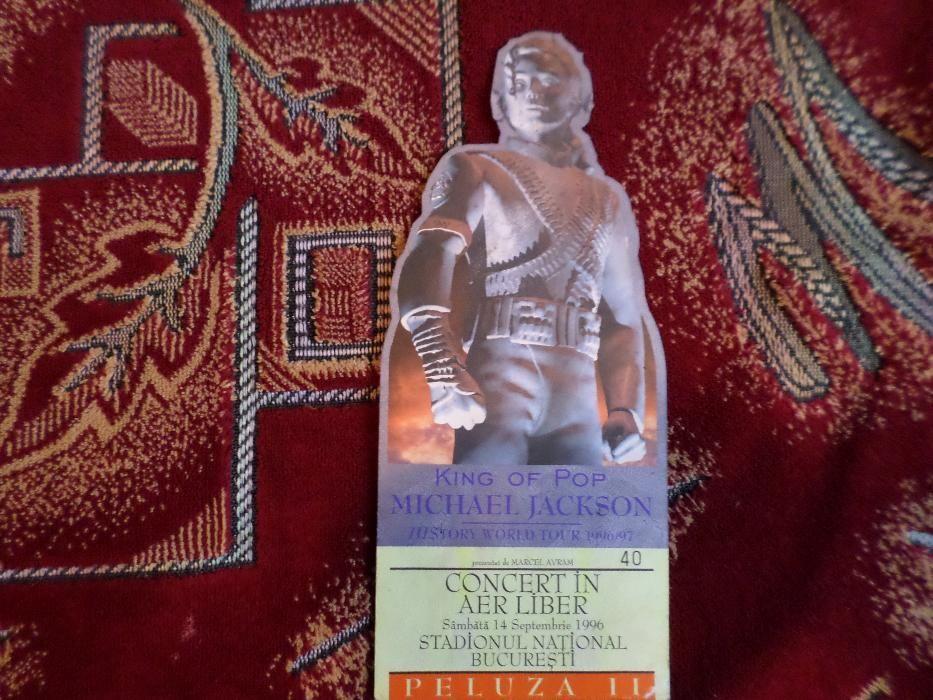 Vand Bilet concert Michael Jackson History World Tour 1996