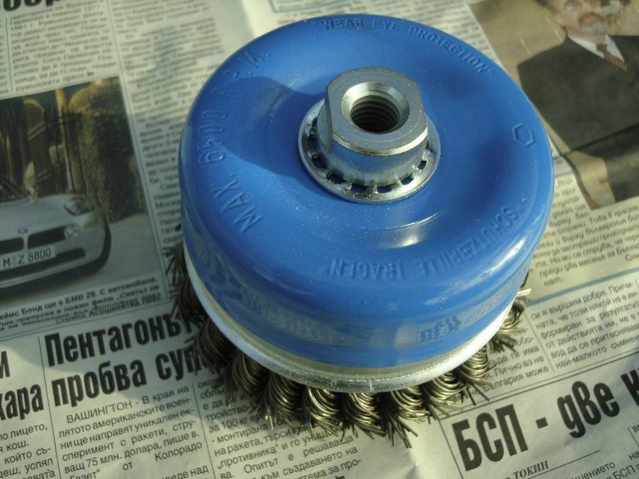 Телена четка за ъглошлайф 80.00 мм