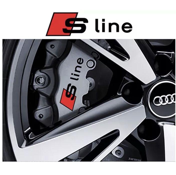 Emblema & stickere Audi S - LINE etrieri