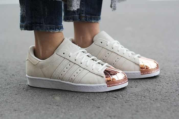 НОВО *** Оригинални Adidas Superstar 80s Metal Toe GOLD Edition