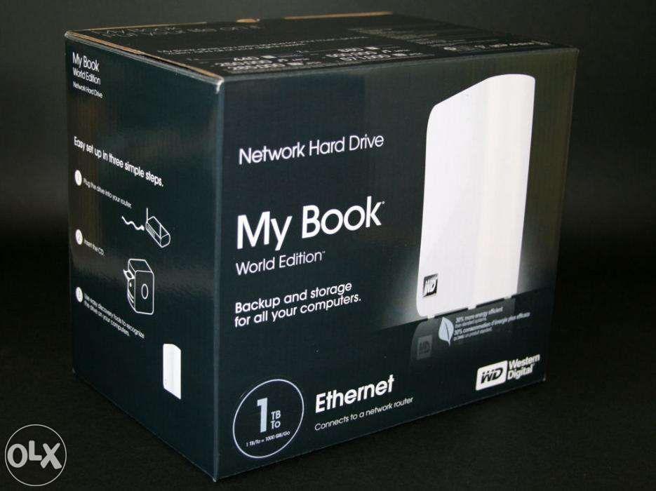 Network Storage My Book World Edition 1TB