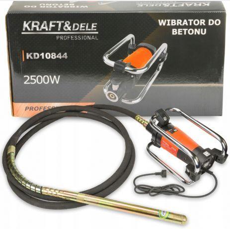 Vibrator pentru Beton 2500W Lancie de 6m KD10844