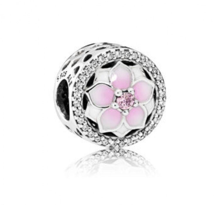 """Talisman Pandora """"Magnolie înflorită"""""""