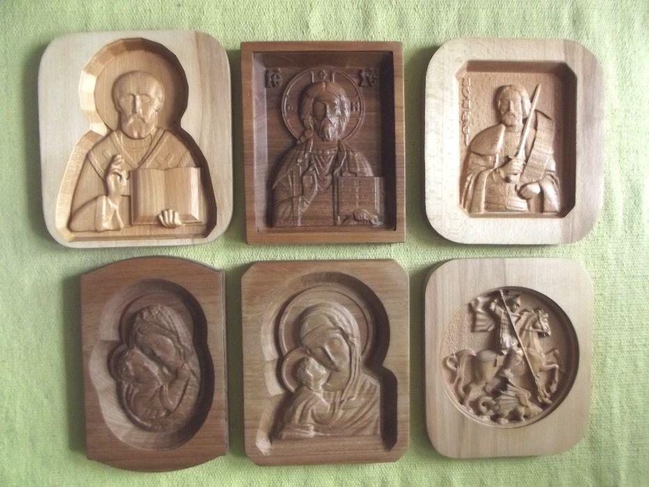 Икони дърворезба