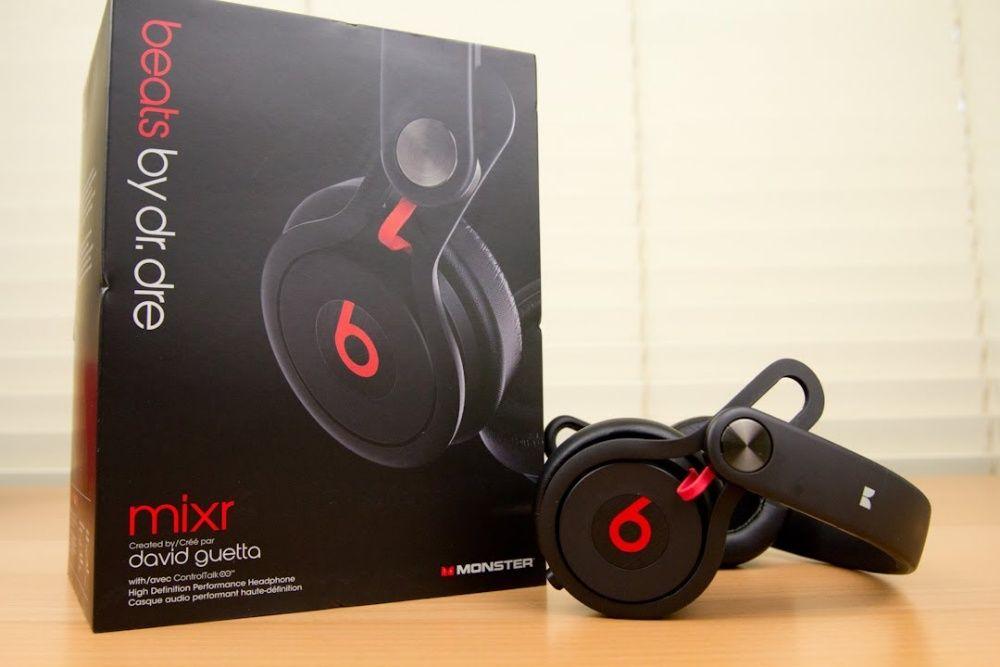 Vendo fones supra-aurais Beats by Dr. Dre Mixr pretos novos