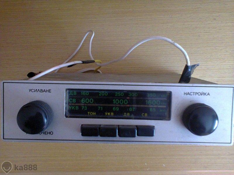 ретро авто радио