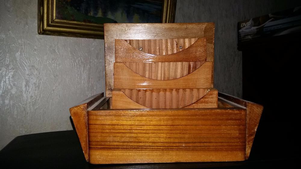 cutie lemn, pentru tigari