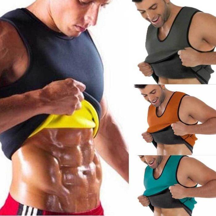 cinta modeladora corporal. Ajuda queimar a gordura abdominal