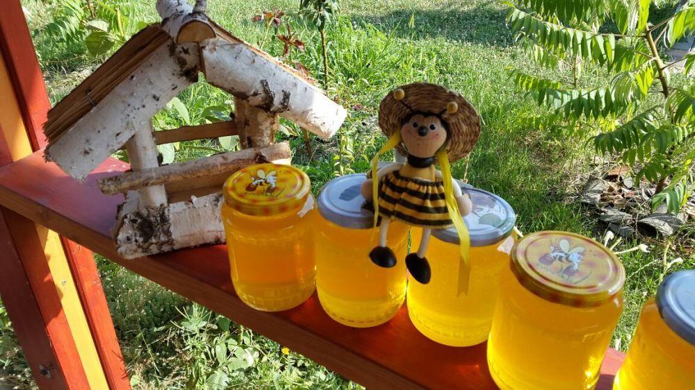 Miere de albine naturala 100% SALCAM Tei polen productie proprie 2018