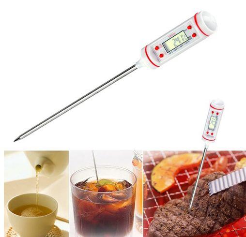 Електронен термометър за храни напитки течности готвене барбекю