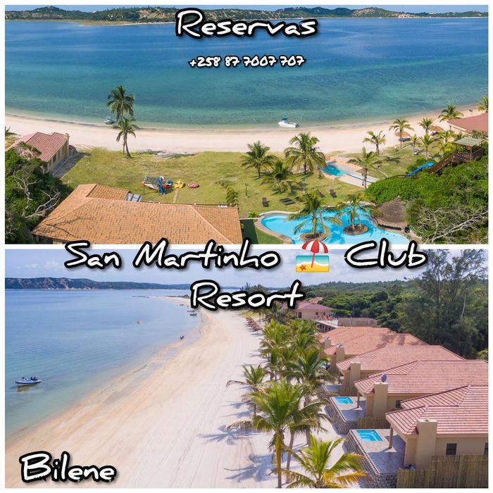 Casa de férias no Resort San Martinho Beach Club Bilene