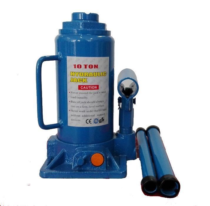10 т Крик хидравличен бутилков с предпазен клапан