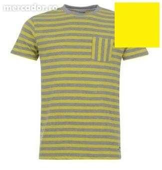 Tricou Lee Cooper Neon Stripe pentru Barbati original reducere