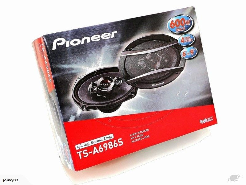 Pioneer 6x9 novos
