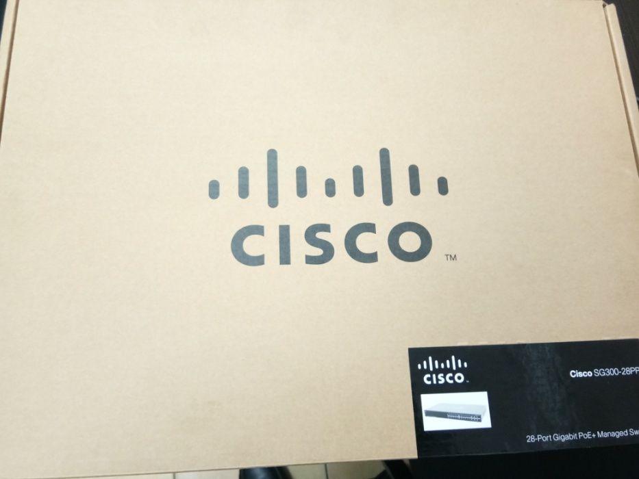 Cisco SG300- 24-port 10/100 Max-PoE Managed Switch