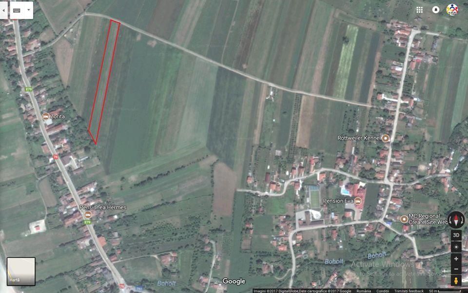 Inchiriere  terenuri constructii Hunedoara, Soimus  - 0 EURO lunar