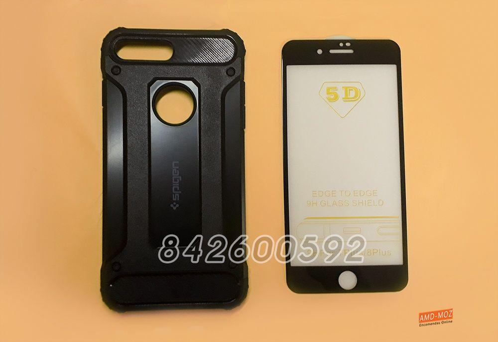 Conjunto para proteção de iPhone 7 Plus