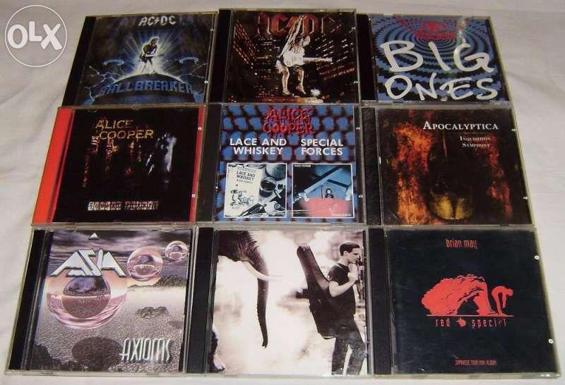 Матрични Cd-та - Rock ,metal & Pop