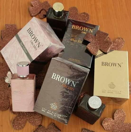 Perfumes arabis brwon orchid originais a venda