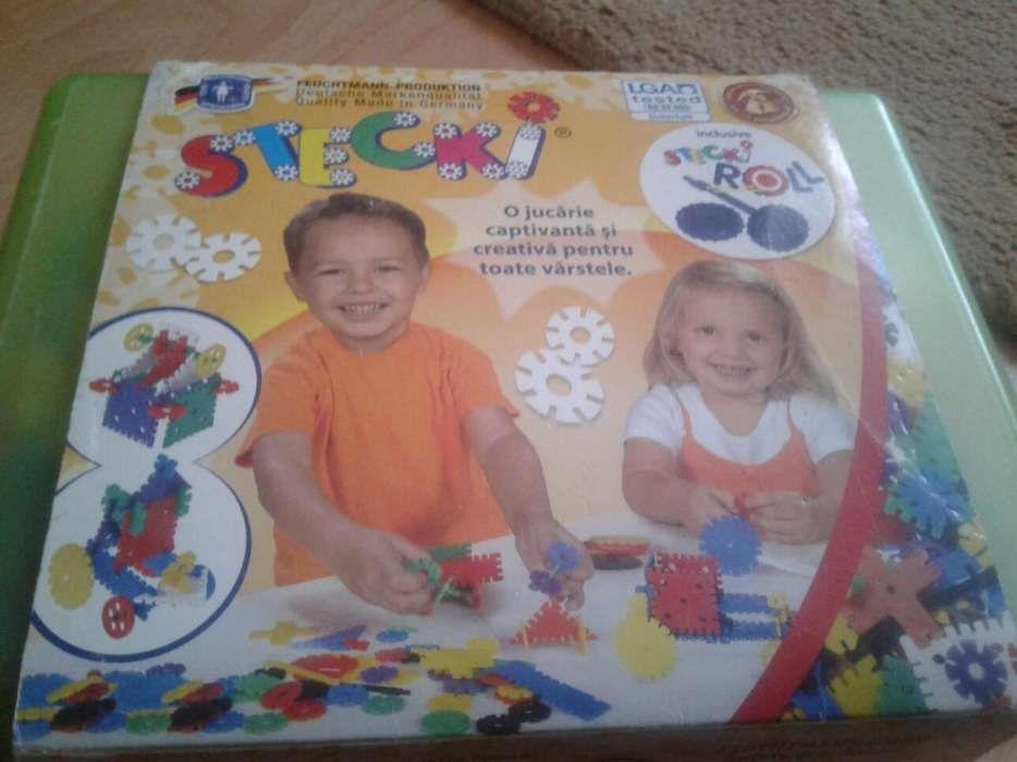Joc creativ Stecky