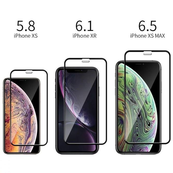 Folie sticla Full Glue 5D Iphone X Max / Iphone XR