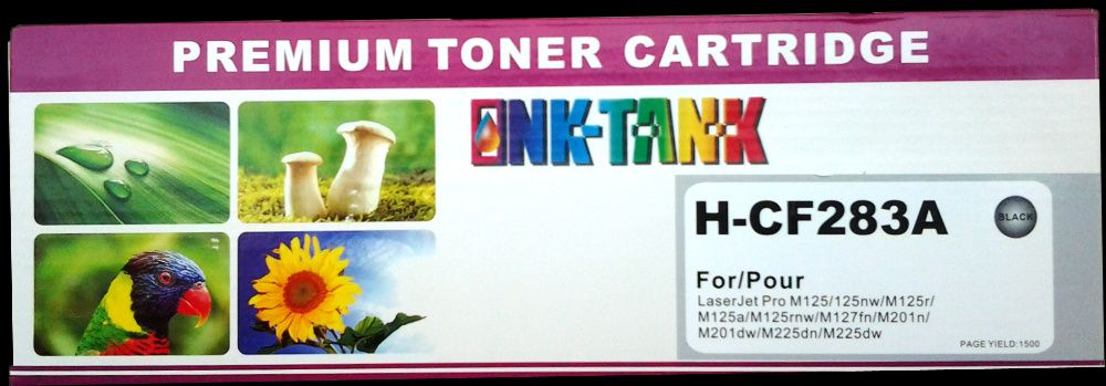 Toner HP 83A Black CF283A Compativel