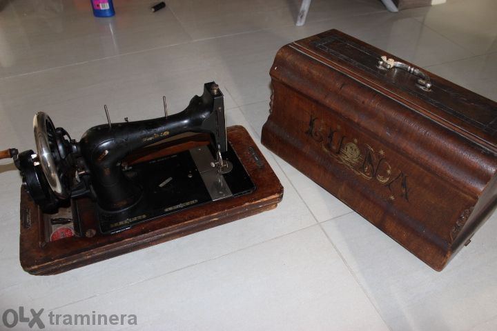 Стара Шевна машина Gritzner Durlach 1904