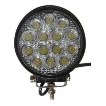 Proiector LED Auto Offroad 42W 12V - 24V, 1080 Lumeni, Dreptunghiular,