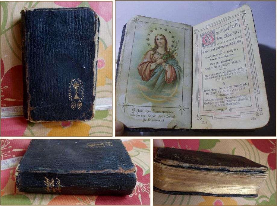 Bucura-te Maria! - carte de rugaciuni, lb germana (1890)
