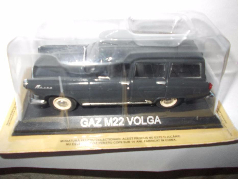 Macheta DeAgostini de Romania - Gaz M 22 Volga -
