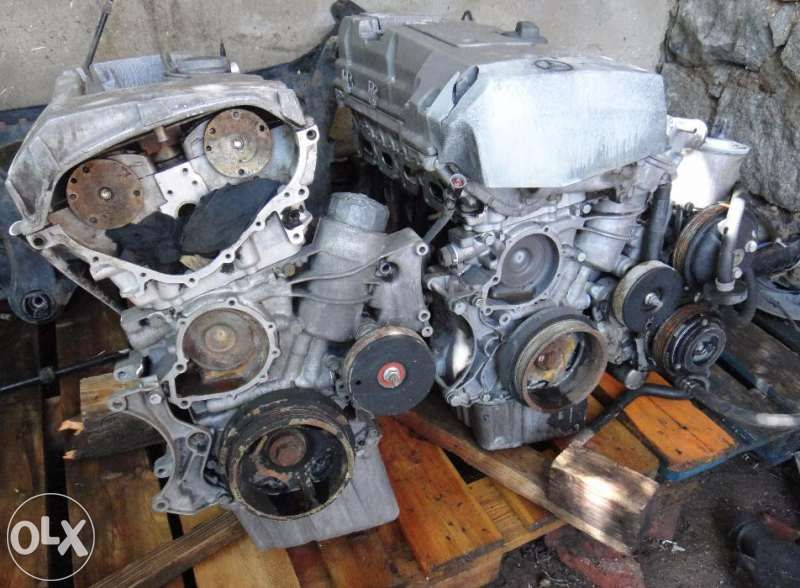 двигатели за МЕРЦЕДЕС 124 Е 200 и за C 180, 2000 куб. 136 коня 16v